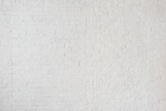 White misty brick wall for background or texture Royalty Free Stock Photos