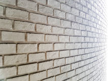 White misty brick wall for background Royalty Free Stock Photography