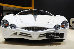 White Mitsuoka orochi front Stock Photo