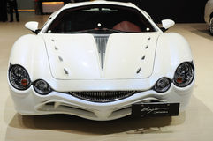 White Mitsuoka orochi front Royalty Free Stock Photography