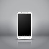 White mobile smartphone Royalty Free Stock Photos