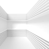 White Modern Architecture Background. Abstract Building Blocks Royalty Free Stock Photos
