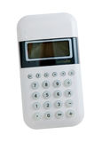 White Modern Calculator Stock Photo