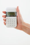 White Modern Calculator Stock Photos