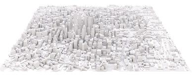 White modern city Stock Photo