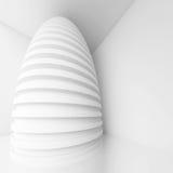 White Modern Interior Design. 3d White Modern Interior Design royalty free illustration