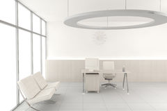 White modern office Royalty Free Stock Photo