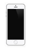 White modern smart phone Royalty Free Stock Photo