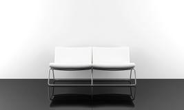 White modern sofa Royalty Free Stock Photo