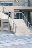 White  modern   stair Royalty Free Stock Photos