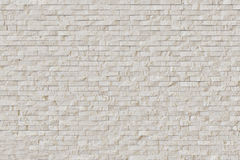 White Modern Stone Brick Wall Stock Photography