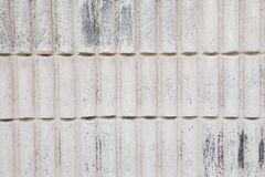 White Modern stone Brick Wall Surfaced Royalty Free Stock Photos