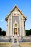 Thai modern style temple Royalty Free Stock Photo