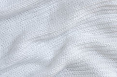 White mohair texture Royalty Free Stock Image