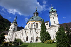 White monastery of Ettal Stock Photo