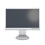 White monitor royalty free illustration