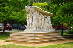 White Monument in Szeged Stock Photography