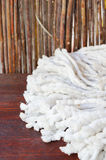 White mop stock photography