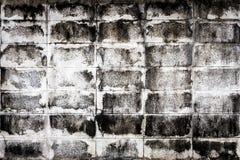 White mortar brick block wall Royalty Free Stock Photo