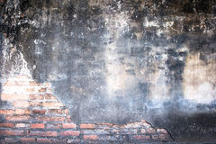 White mortar gray and Red brick wall texture Royalty Free Stock Photography