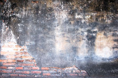 White mortar gray and Red brick wall texture Royalty Free Stock Photo