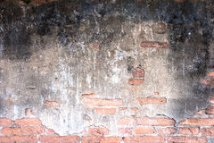 White mortar gray and Red brick wall texture Royalty Free Stock Photos