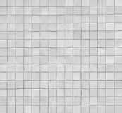 White mosaic Stock Image