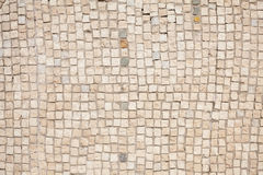 White mosaic pattern Stock Images