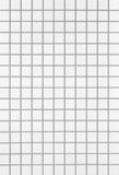 White Mosaic tiles Stock Image