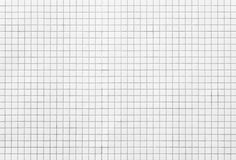 White Mosaic Tiles Stock Image
