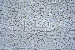White mosaic tiles Royalty Free Stock Photos
