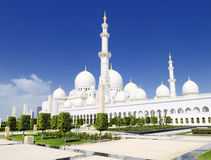 White Mosque Royalty Free Stock Photography