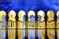 White Mosque Royalty Free Stock Photo