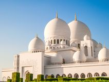 White Mosque Stock Photography