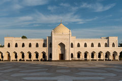 White mosque. In Bolgar city, Tatarstan, Russia Royalty Free Stock Images