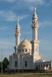 White mosque. In Bolgar city, Tatarstan, Russia Royalty Free Stock Image