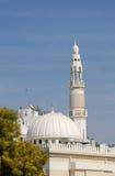 White Mosque in Dubai Stock Photo