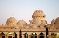 White Mosque in Egypt Hurghada Stock Photo