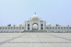 White mosque at the Hui Cultural center in Yinchuan, Ningxia Province, China Stock Image