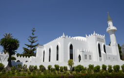 White Mosque Royalty Free Stock Image