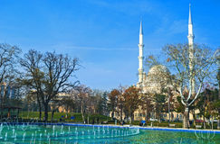 The white mosque of Konya Stock Image