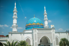 White Mosque in Kuala Lumpur Stock Photos