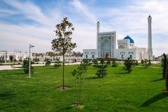 White mosque Minor in Tashkent, Uzbekistan Royalty Free Stock Photos