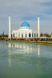 White mosque Minor in Tashkent, Uzbekistan Royalty Free Stock Images