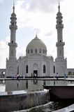 White mosque in the village of Bulgar. Stock Photography