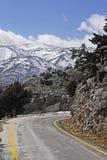 White mountain in crete, greece Royalty Free Stock Photography