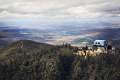 White Mountain, NH. Hill top in White Mountain, NH, USA Royalty Free Stock Image