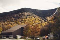 White Mountain, NH. Hill top in White Mountain, NH, USA Royalty Free Stock Photos