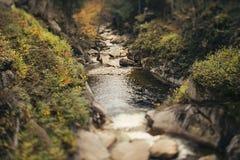 White Mountain river, NH. Mountain river in White Mountain, NH, USA Stock Image