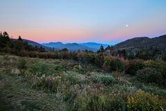 White Mountain Sunset Royalty Free Stock Images